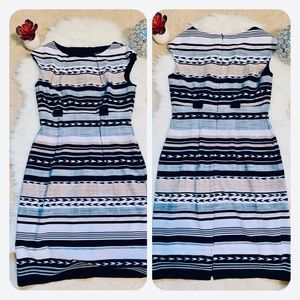 Connected apparel aztec work professional dress
